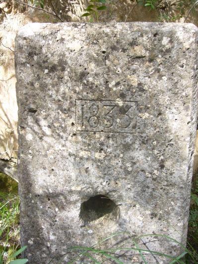 Año 1833