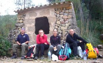 Rafael, Pilar, Marina y Gustavo