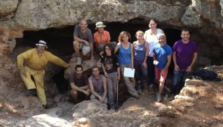 Descubren dos cuevas prehistóricas. Sencelles. BTTersMallorca