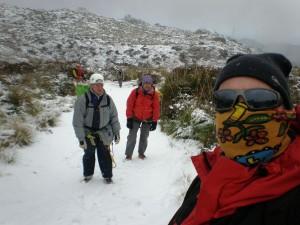 Avenc d´en Xim 2012 nevada Foto: Rafael Minguillón BTTersMallorca
