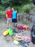 La parejita: Vicente y Diego.
