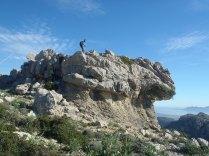 curiosa roca llamada el Paraigo, 522m.