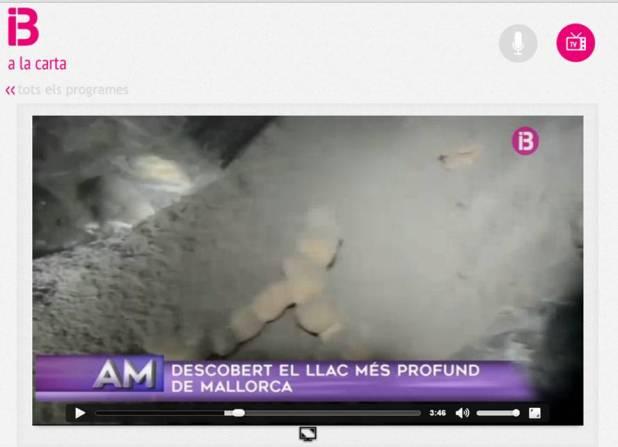IB3 A la carta lago cova de sa Campana BTTersMallorca Rafael Minguillón