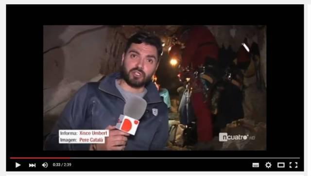 carátula TV4 Lago cova de sa Campana BTTersMallorca Rafael Minguillón