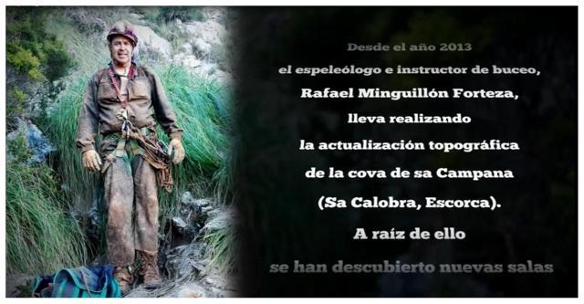 Carátula vídeo clip lago sa Campana  -Rafael Minguillón  -BTTersMallorca