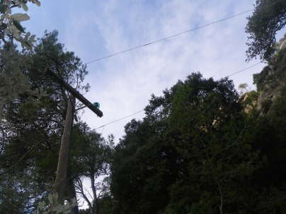 Pas antic estesa eléctric Alfabia BTTersMallorca Foto: Rafael Minguillón