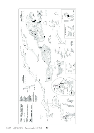 Topografía actualizada Hallazgo lago subterráneo más profundo de Mallorca por Rafael Minguillón. BTTersMallorca