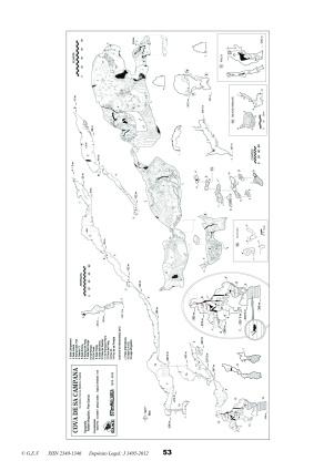 topografía actualizada Hallazgo lago subterráneo más profundo de Mallorca por Rafael Minguillón. BTTersMallorca.